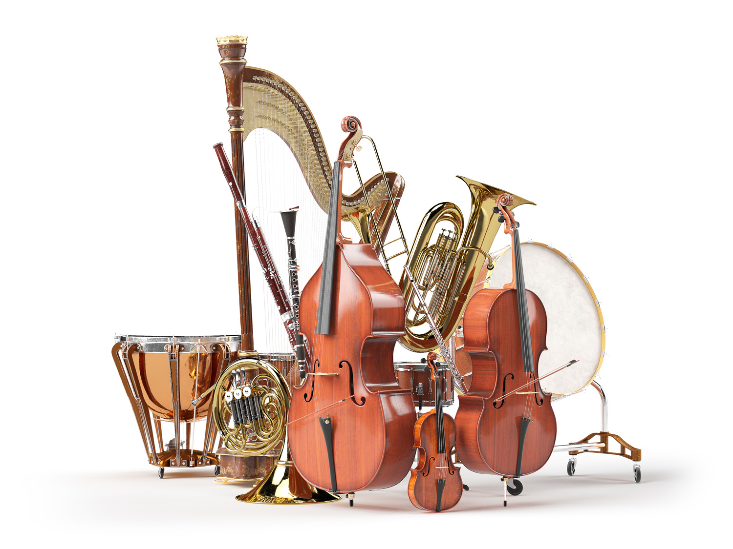 The Instruments Of The Orchestra I Families