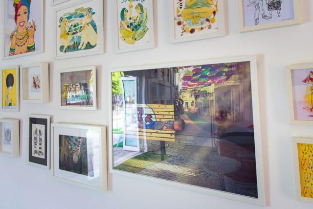galerie d'art espaco cidade galeria arte Agueda art gallery umbrella