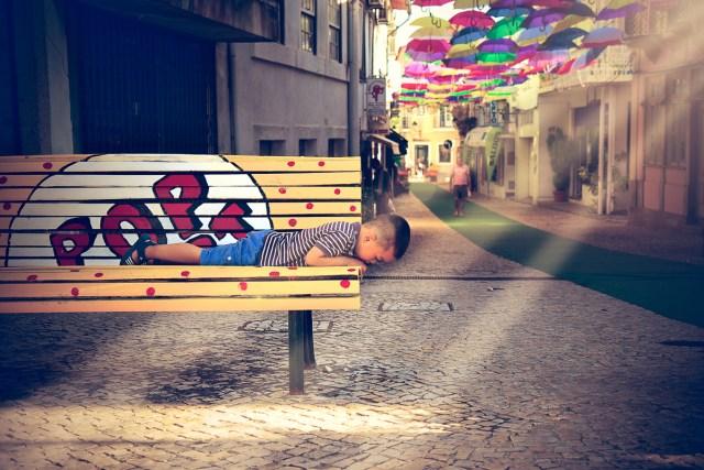 Agueda Portugal Aveiro photo parapluies umbrella couleurs cores colors frederico santos photographe