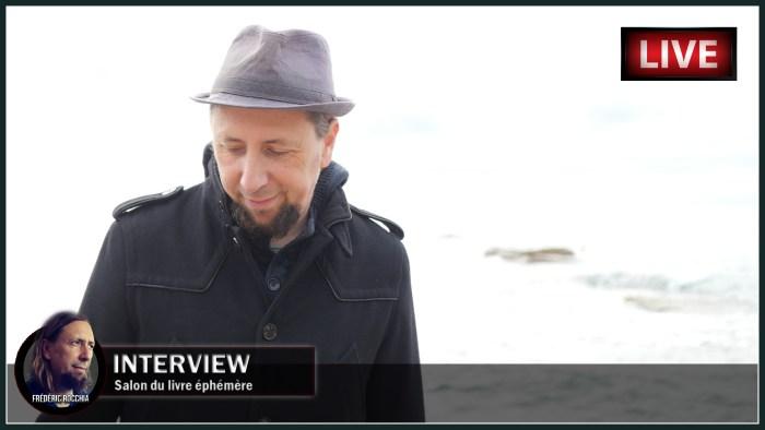 """Interview du 16 novembre 2020 sur """"Le salon du livre éphémère"""""""