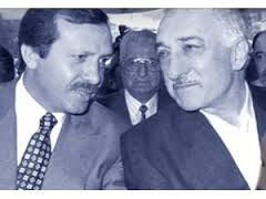 Recep Tayyip Erdogan and Fethullah Gülen, back in the old days.