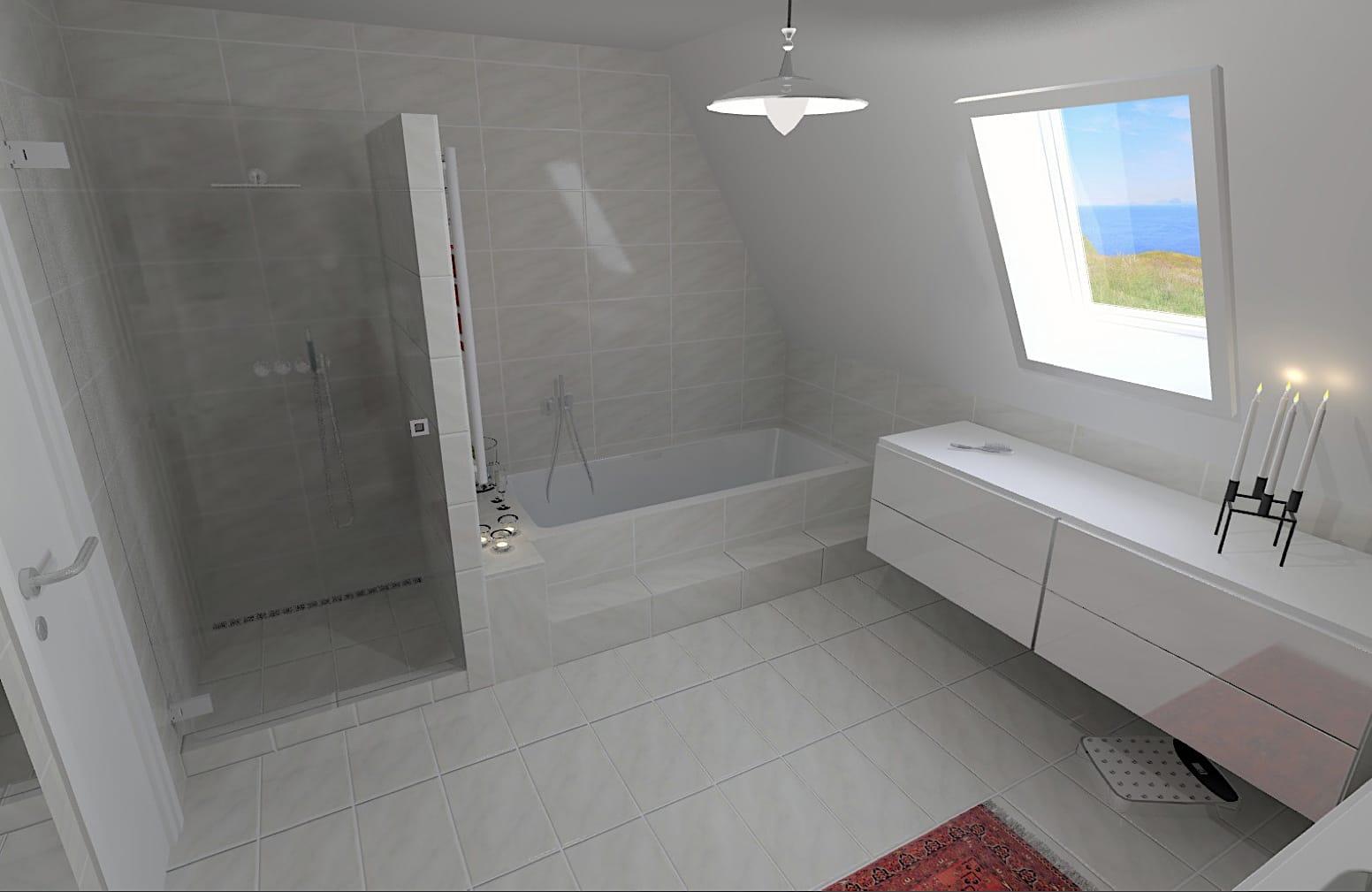 design badeværelse 3d