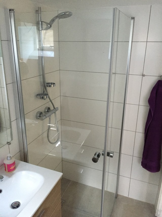 Gæstebad brusekabine