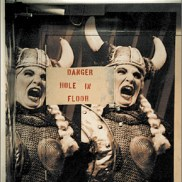 Viking, affiche, New York, photo Blaize