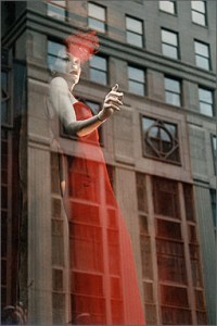 Escaping from the 5th avenue, New York, photo, Blaize