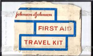 First aid travel kit, Blaize, New York