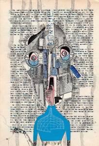 Béryl, ionique, collage, magazine bateaux, Blaize