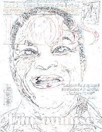 white only, l'obs, magazine, Christiane Taubira