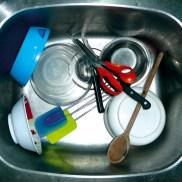 TV, sink, évier, photo, Blaize