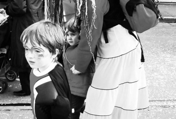 photographie, carnaval, enfants, Blaize