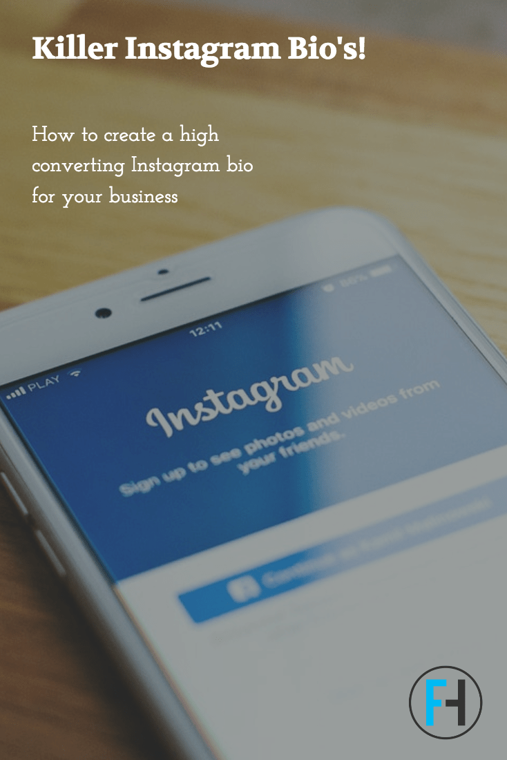 How to Create a High Converting Instagram Bio
