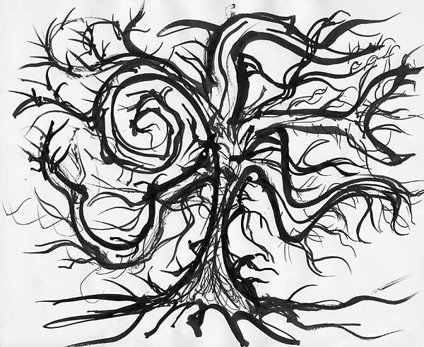 A Useless Tree, 2009, by Fred Hatt