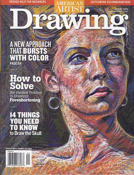 American Artist Drawing, Spring 2009 cover