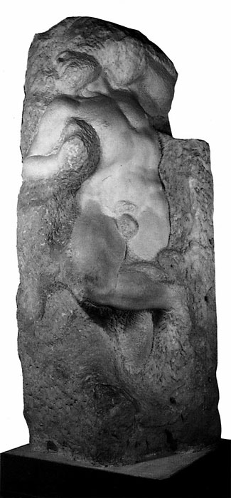 "Michelangelo, ""Awakening Slave"", 1519"