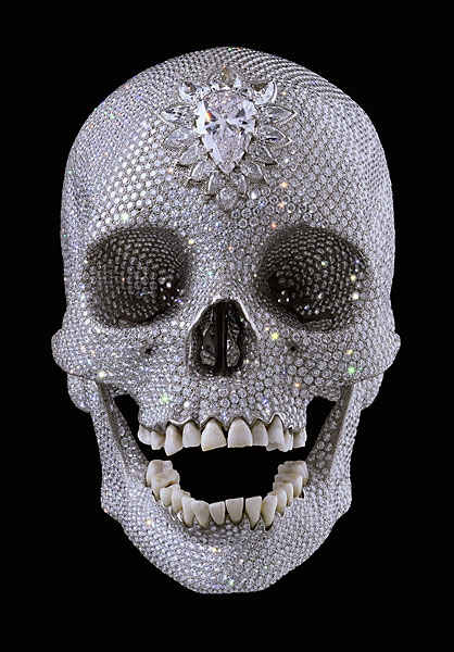 For the Love of God, 2007, by Damien Hirst