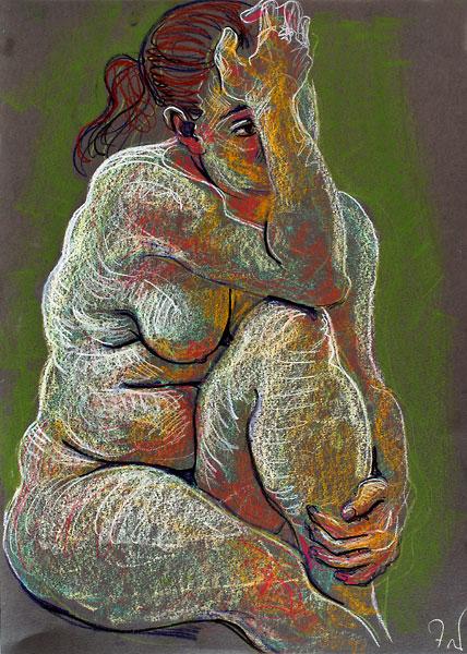 Elbow Knee, 2009, by Fred Hatt