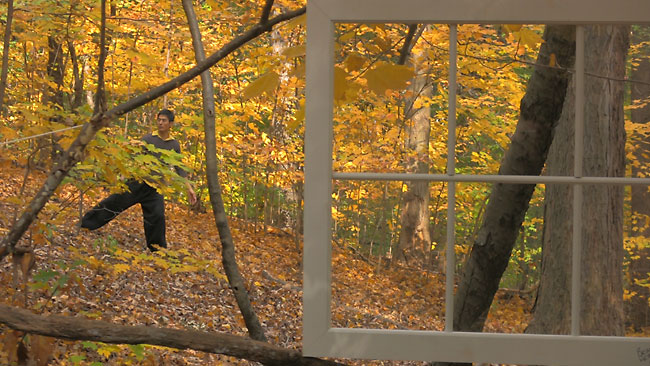 "Still from ""November"", 2009, a video by Jung Woong Kim & Fred Hatt"