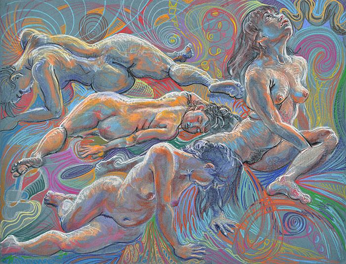 Awakening, 2011, by Fred Hatt