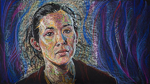 Mia Yoo, 2011, by Fred Hatt
