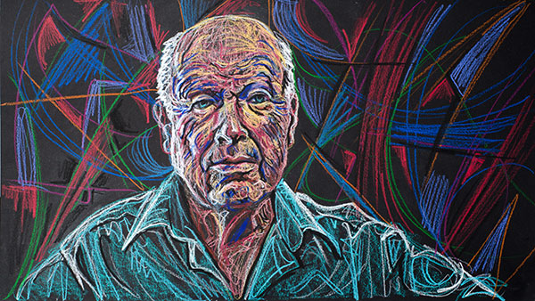 Peter Brook, 2011, by Fred Hatt