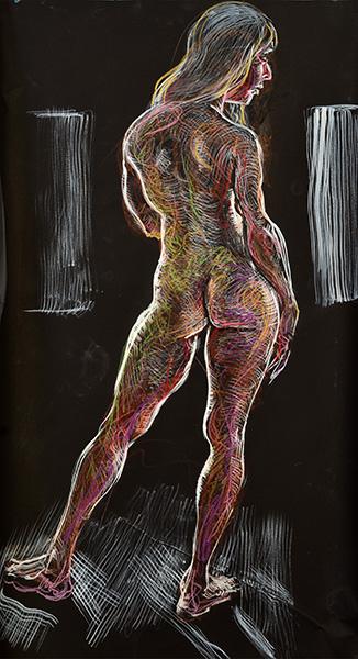 Back Light, 2013, by Fred Hatt