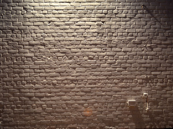 Brick Wall, 2012, photo by Fred Hatt