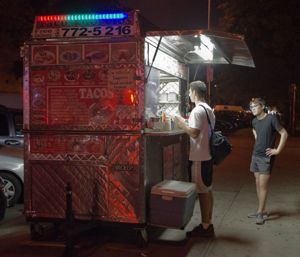 Taco Cart, 2012, photo by Fred Hatt
