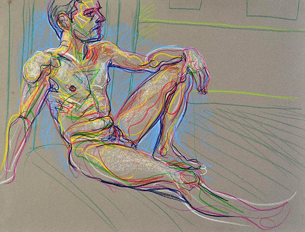Sketch in Primaries, 2013, by Fred Hatt