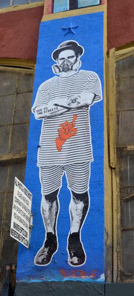 Mural by Sinxero, 5 Pointz, photo by Fred Hatt