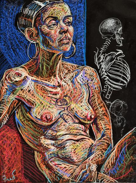 Haruspex, 2013, by Fred Hatt