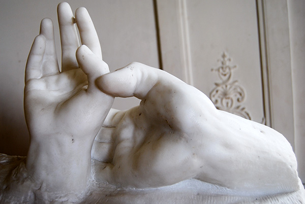 Hands of Lovers, 1904, by Auguste Rodin
