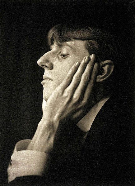 Portrait of Aubrey Beardsley, 1894, photo by Frederick Henry Evans