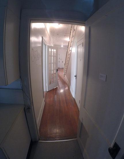 Hallway, 2014, photo by Fred Hatt