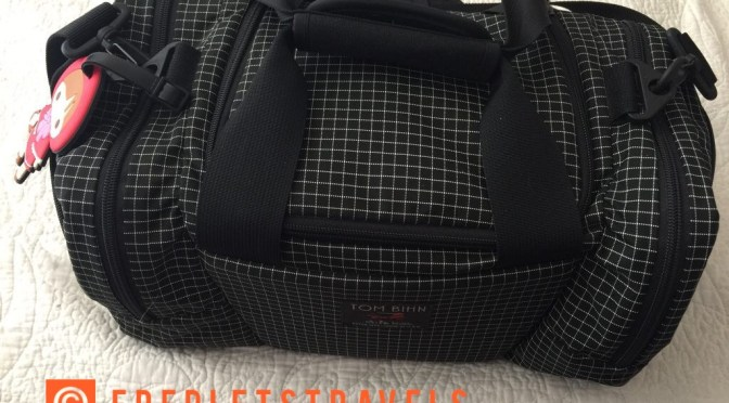 1 week in the @tombihn Night Flight Travel Duffle