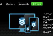 Enyo - Framework Mobile