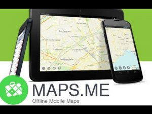 Maps.me Application