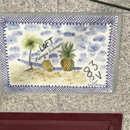 Loft Glamour Mangue-Ananas à Porto : Entrée