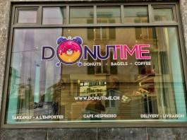 Donutime : Devanture
