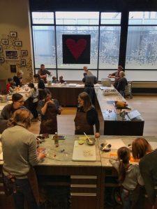 Maison Cailler : Atelier du chocolat
