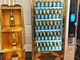 Discovery Day 2018 : Distributeur automatique à Champagne Moët & Chandon