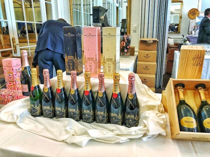 Discovery Day 2018 : Coffret Cadeau Champagne Moët & Chandon et Ruinart