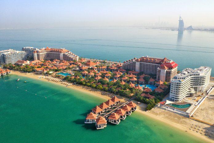 Vue de Dubai par Drone