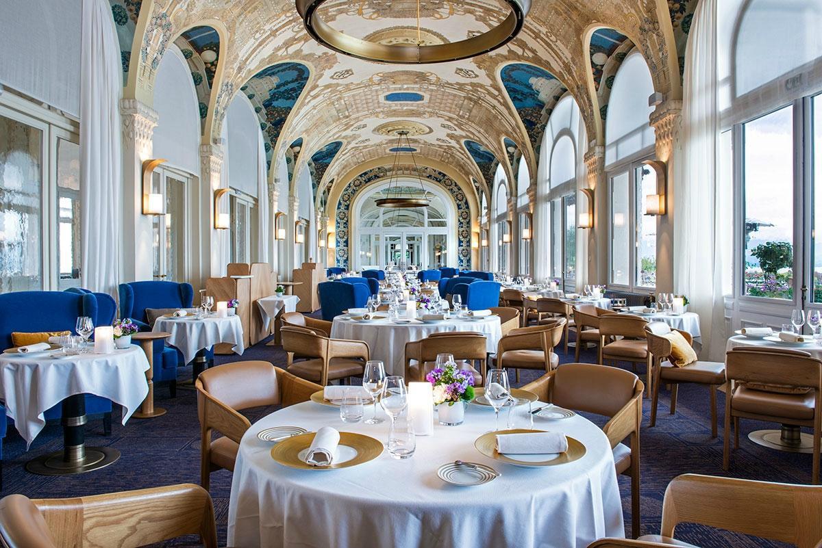 Les Fresques Restaurant Gastronomique à Evian Les Bains Blog Fredods