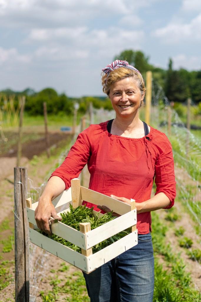 Bedrijfsfotografie voor lokale groententeler