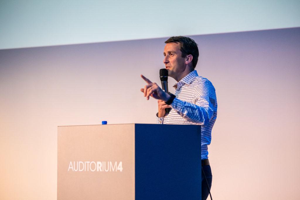 Auditorium4 te Gent als seminarie locatie