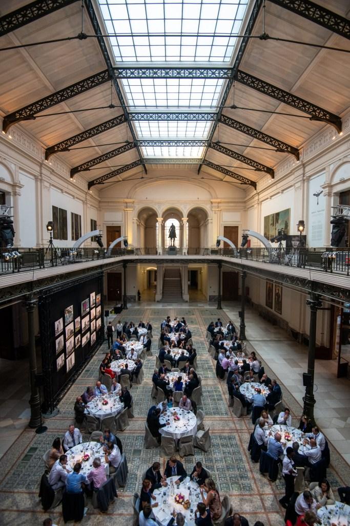 Business event in Museum voor kunst en geschiedenis te Brussel