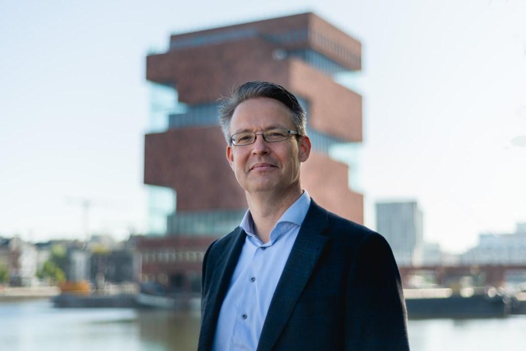 Portretfoto van ondernemer in Antwerpen