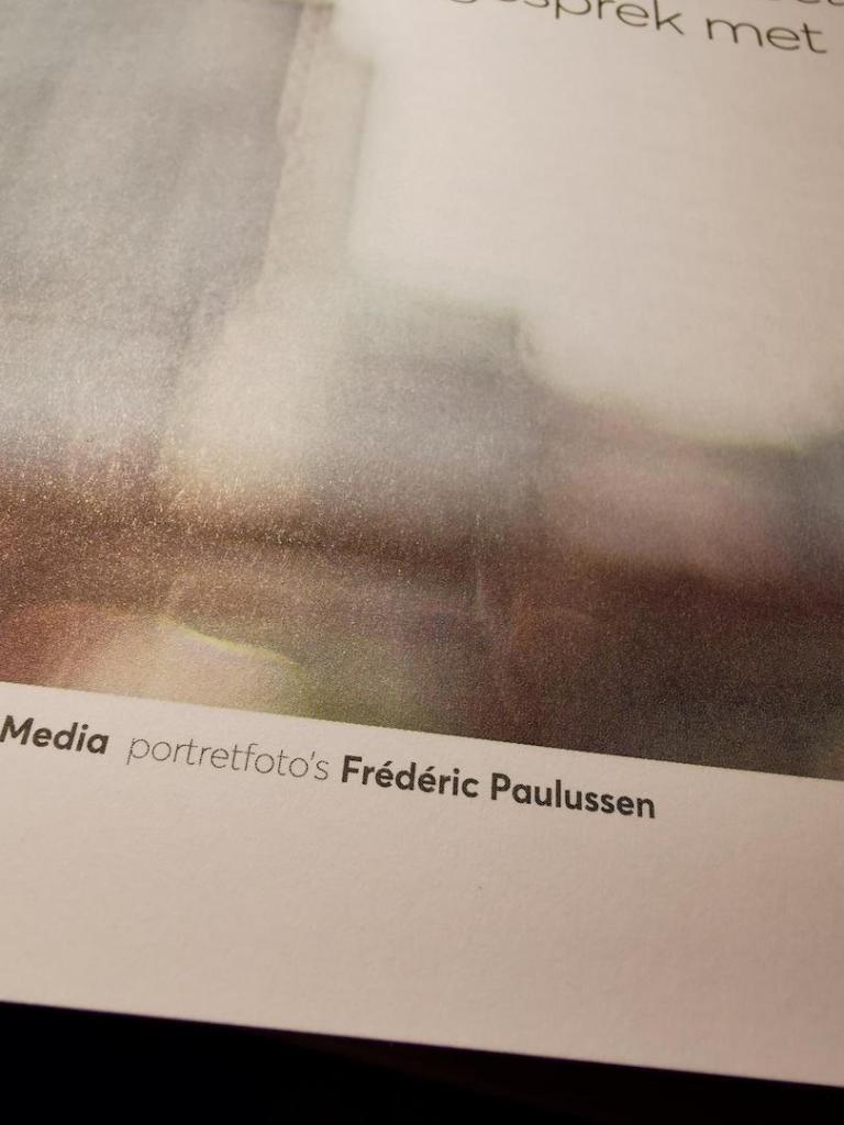 Vermelding fotograaf in magazine