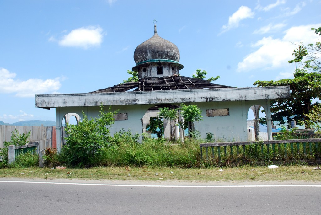 Burnt mosque