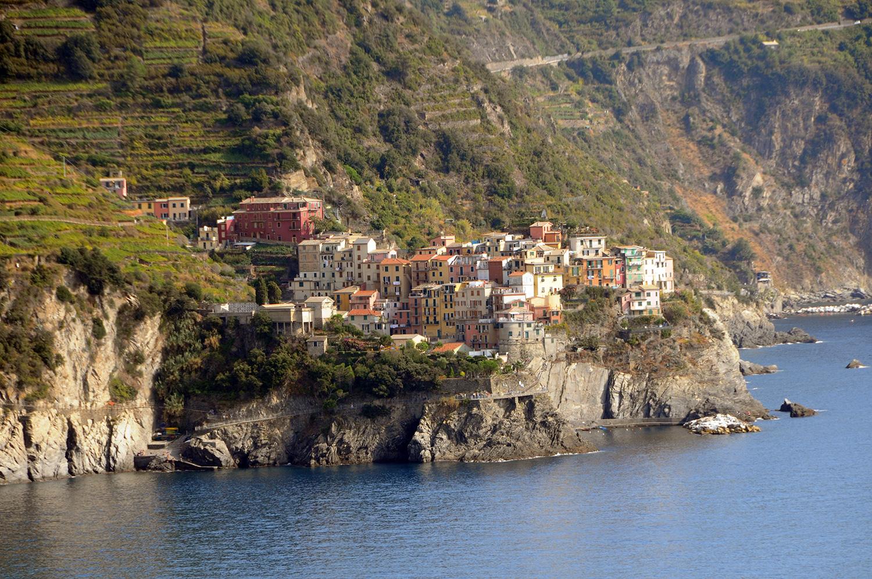 Coastal village
